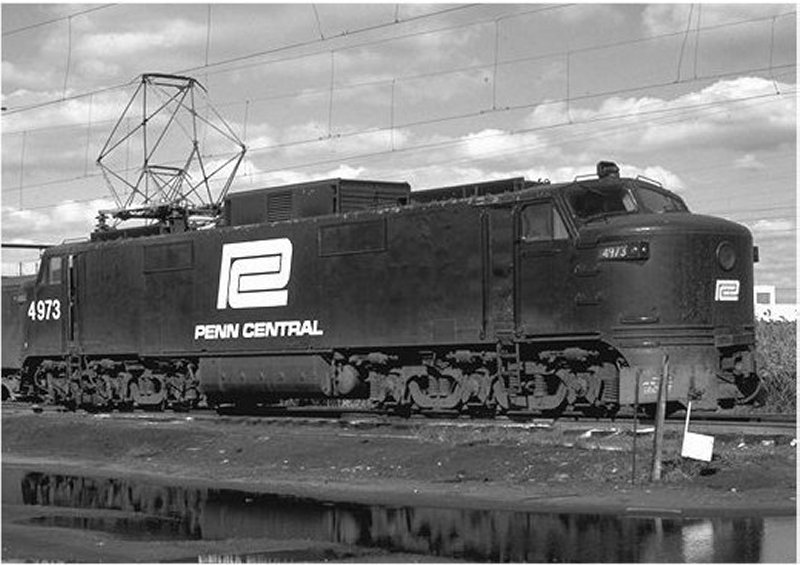 New Haven EP-5 Electric Locomotive: Date, Location Unknown